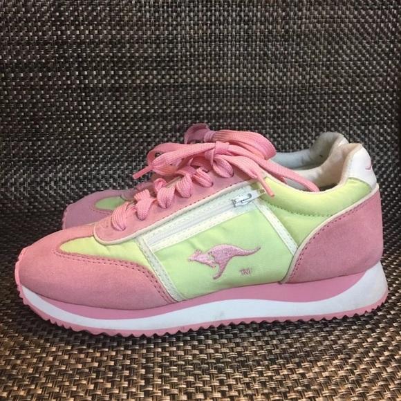 Kangaroos Sneakers Tennis Shoes 6.5 Vintage zipper
